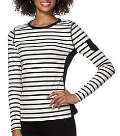 Chaps® Striped Jersey T-Shirt