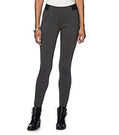 Chaps® Stretch-Ponte Skinny Leggings