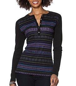 Chaps® Fair Isle Henley Shirt