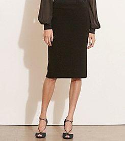 Lauren Ralph Lauren® Petites' Rib-Knit Merino Skirt