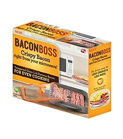 As Seen on TV Bacon Boss Microwave Bacon Cooker