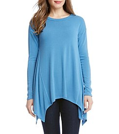 Karen Kane® Paneled Handkerchief Top