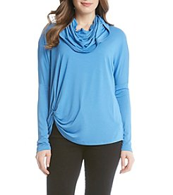 Karen Kane® Cowlneck Pick-Up Top