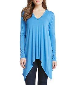 Karen Kane® V-Neck Handkerchief Tunic