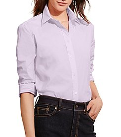Lauren Ralph Lauren® Stretch Broadcloth Shirt