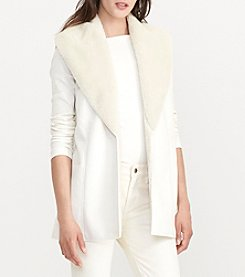 Lauren Ralph Lauren® Shawl Collar Vest