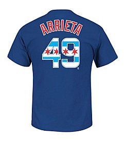 Majestic MLB® Chicago Cubs Men's  Arrieta 49 Again Next Year Short Sleeve Tee