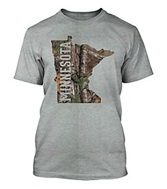 Top Promotions Camo Minnesota Men's Short Sleeve Tee