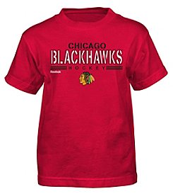 adidas® NHL® Chicago Blackhawks Boys' 4-7 Identified Short Sleeve Tee