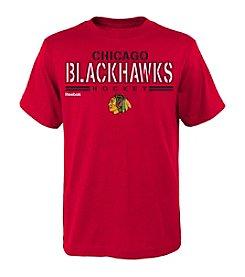 adidas® NHL® Chicago Blackhawks Boys' 8-20 Identified Short Sleeve Tee