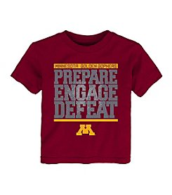 adidas® NCAA® Minnesota Golden Gophers Boys' 2T-4T Preparation Short Sleeve Tee