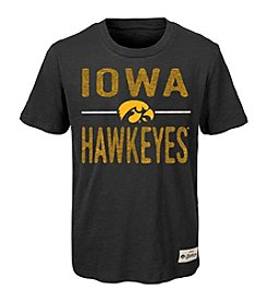 adidas® NCAA® Iowa Hawkeyes Boys' 4-20 Descendant Short Sleeve Tee