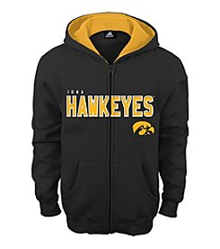 adidas® NCAA® Iowa Hawkeyes Boys' 4-20 Stated Full Zip Hoodie