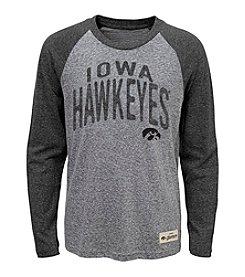 adidas® NCAA® Iowa Hawkeyes Boys' 8-18 Legacy Pedigree Long Sleeve Tee