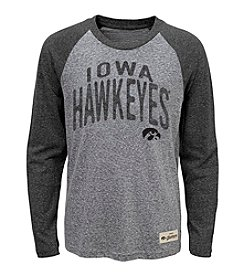 adidas® NCAA® Iowa Hawkeyes Boys' 4-7 Legacy Pedigree Long Sleeve Tee