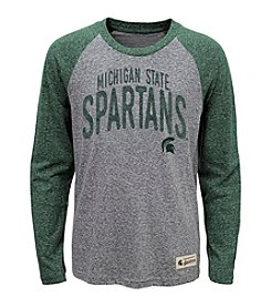 adidas® NCAA® Michigan State Spartans Boys' 4-20 Legacy Pedigree Long Sleeve Tee