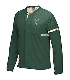 adidas® NBA® Milwaukee Bucks Men's On-Court Jacket