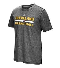 adidas® NBA® Cleveland Cavaliers Men's Aeroknit Short Sleeve Tee