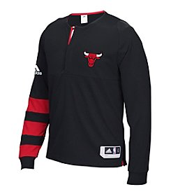 adidas® NBA® Chicago Bulls Men's Shooter Long Sleeve Tee