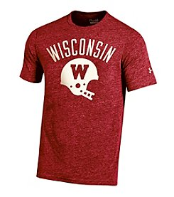 Under Armour® NCAA® Wisconsin Badgers Men's Camp Randall Short Sleeve Tee