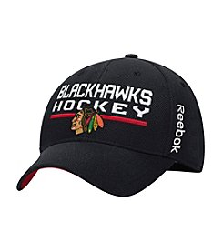 Reebok® NHL® Chicago Blackhawks Men's Locker Room Flex Fit Hat