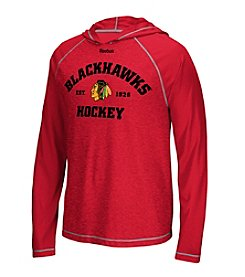 Reebok® NHL® Chicago Blackhawks Men's New Traditions Hooded Long Sleeve Tee