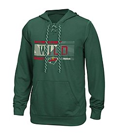 Reebok® NHL® Minnesota Wild Men's Freeze Stripe Hoodie