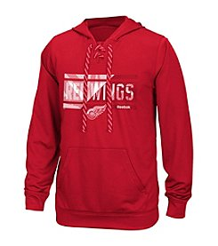 Reebok® NHL® Detroit Redwings Men's Freeze Stripe Hoodie