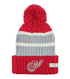 Reebok® NHL® Detroit Redwings Watch Cap Cuffed Pom Hat