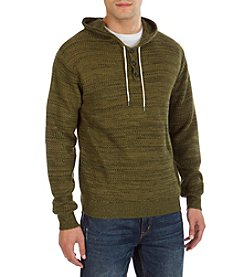 Union Bay® Men's Dunham Textured Hoodie Henley