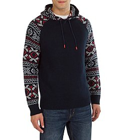 Union Bay® Men's Bernard Print Hoodie Sweater