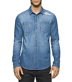 Calvin Klein Jeans® Men's Button Down Denim Shirt