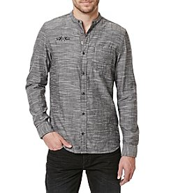 Buffalo by David Bitton Men's Sagill Marled Button Down Shirt