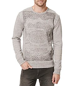 Buffalo by David Bitton Men's Fabor Long Sleeve Crew Neck Knit