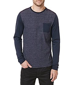 Buffalo by David Bitton Men's Kalong Long Sleeve Pocket Tee