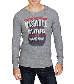 Lucky Brand® Men's Nashville Poster Long Sleeve Graphic Tee