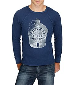 Lucky Brand® Men's Whiskey Cure Long Sleeve Graphic Tee
