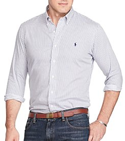 Polo Ralph Lauren® Men's Big & Tall Long Sleeve Button Down Twill Shirt