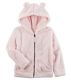 Carter's® Girls' 2T-8 Sherpa Hoodie