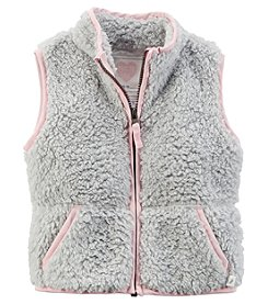 Carter's® Girls' 2T-6X Sherpa Vest