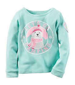 Carter's® Girls' 2T-8 Let's Go Camping Tee