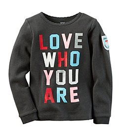 Carter's® Girls' 2T-8 Love Who You Are Tee