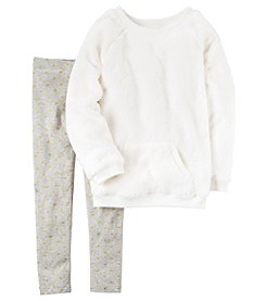 Carter's® Girls' 4-8 2-Piece Sherpa Tunic and Leggings Set