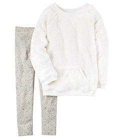 Carter's® Girls' 4-8 2-Piece Sherpa Tunic and Leggings Set