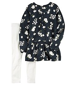 Carter's® Girls' 4-8 2-Piece Floral Tunic and Leggings Set