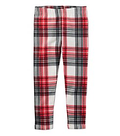 Carter's® Girls' 2T-8 Plaid Leggings