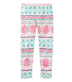 Carter's® Girls' 2T-8 Fair Isle Leggings