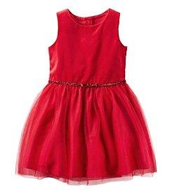 Carter's® Girls' 2T-8 Glitter Bow Dress