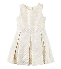 Carter's® Girls' 2T-8 Jacquard Dress