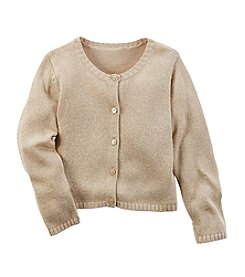 Carter's® Girls' 2T-8 Metallic Cardigan